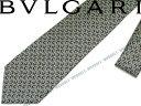 BVLGARI ブルガリ ネクタイ 【通常価格】24,900円→【特価】20,900円 242191 ダークグレー 「DIVA COMPASS」 シルクブランド ビジネス/メンズ/男性用