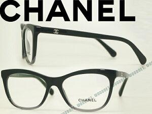 16997689b183 CHANEL シャネル メガネフレーム 眼鏡 めがね ブラック×クリアブラック 0CH-3341-1561 ブランド/レディース /女性用/度付き・伊達・老眼鏡・カラー・パソコン用P..