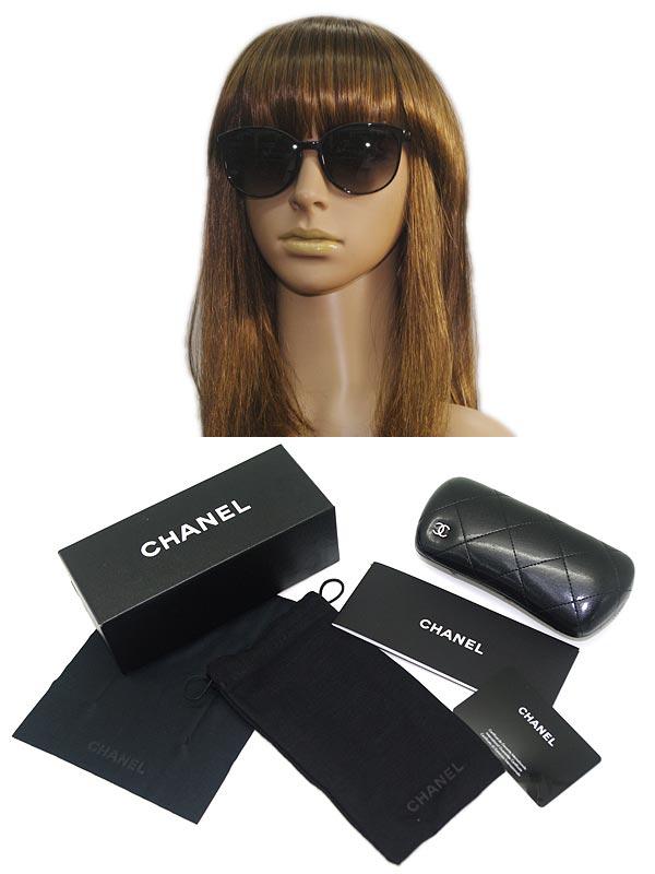 CHANELシャネルサングラスグラデーションブラック0CH-5278A-C501-S6ブランド/メンズ&レディース/男性用&女性用/紫外線UVカットレンズ/ドライブ/釣り/アウトドア/おしゃれ