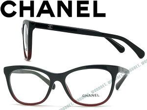285274945721 CHANEL シャネル メガネフレーム 眼鏡 めがね メガネフレーム 眼鏡 ブラック×クリアレッド 0CH-3341-1559 ブランド/レディース /女性用/度付き・伊達・老眼鏡・.