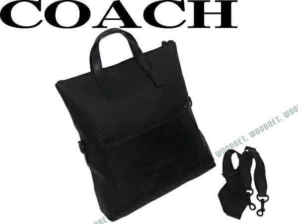 COACH コーチ トートバッグ マンハッタン フォルドオーバー パッチワーク レザー ブラック 鞄 72333-BKBLK ブランド/メンズ/男性用