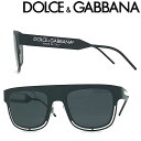 DOLCE&GABBANA サングラス ドルチェ&ガッバーナ メンズ&レディース UVカット ブラック 0DG-2232-1106-87 ブランド