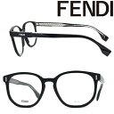 FENDI メガネフレーム フェンディ メンズ&レディース ブラック FF-M0103-08A ブランド