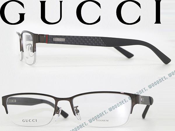 眼鏡 グッチ ガンメタル ナイロール型 GUCCI メガネフレーム めがね GG-9700F-4VJ WN0054 ブランド/メンズ&レディース/男性用&女性用/度付き・伊達・老眼鏡・カラー・パソコン用PCメガネレンズ交換対応/レンズ交換は6,800円〜:WOODNET