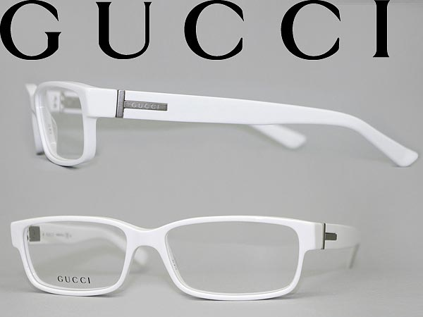 woodnet Rakuten Global Market: GUCCI glasses white Gucci ...