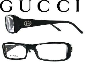 【送料無料】グッチ めがね メガネフレーム GUCCI 眼鏡 ブラック×シルバー GUC-GG…