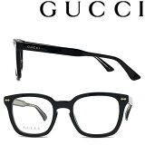 GUCCI メガネフレーム グッチ メンズ&レディース ブラック ブラック 眼鏡 GUC-GG-0184O-001 ブランド
