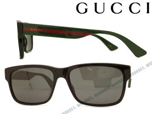 GUCCI サングラス グッチ ブラック メンズ&レディース サングラス GUC-GG-0340S-006 ブランド