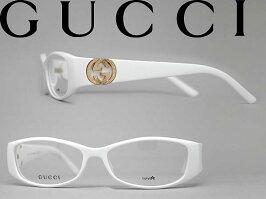 メガネフレームGUCCIホワイトグッチ眼鏡めがねアイウェアGUC-GG-3186-VK6WN0044