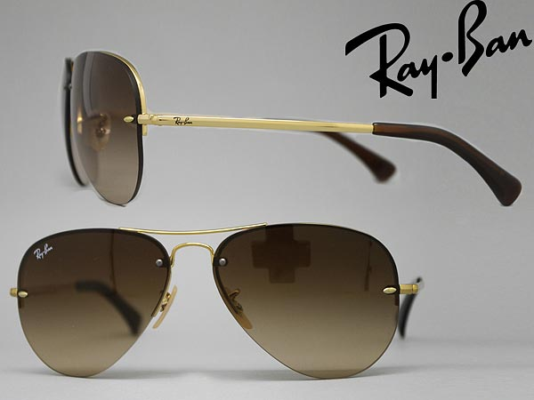 ray bans sunglasses ladies  rayban グラデーションブラウンティア drop sunglasses ray ban 0rb 3449 001 13 branded/mens & ladies / men for & woman sex for and ultraviolet uv kathrens