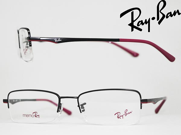 ray ban 1535 top black on red product name