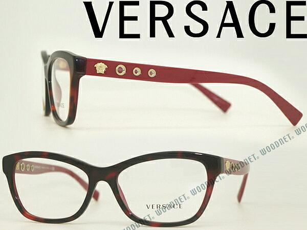 眼鏡・サングラス, 眼鏡 VERSACE 0VE-3225-5184 PC