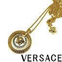 VERSACE ネックレス ベルサーチ メンズ&レディース ゴールド ロゴ DG18031-DJMS-D41OH
