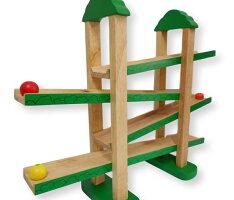 「森のうんどう会」木のおもちゃエドインター社出産祝いお誕生日のギフトも!木製木おもちゃスロープ知育玩具1歳:男2歳:男1歳:女2歳:女