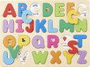 木のパズル A・B・C 木のおもちゃ ピックアップ パズル 1歳 1歳半 手先 指先 器用 知育玩具 知育パズル 木製