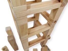 「ビー玉積み木転がし100」ピタゴラスイッチ積み木送料無料