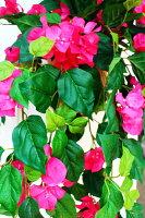 【ブーゲンビリア造花】【ブーゲン壁掛】【人工観葉】【触媒加工】【送料無料】