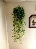 【トラデイスカス壁掛【人工観葉植物】【インテリアグリーン】【触媒加工】【造花】【フェイクグリーン】【壁掛グリーン】