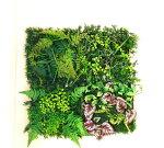 【グリーンパネル】【人工観葉植物】【グリーンマット】【触媒加工】【4柄よりお選び下さい】【繰り合わせ自由】