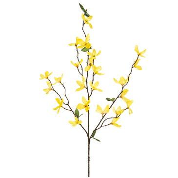 造花/祝い/正月フラワー/レンギョウ/【代引き不可】イエロー
