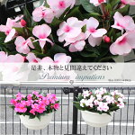 【造花プランター】【インパセイスプランラー】「人工観葉植物】【壁掛タイプ・置きタイプお選び下さい】【送料無料】