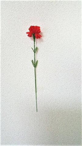 【母の日カーネーション】【ノベルティ用】【造花】1本¥40 100本以上送料無料