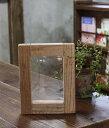 味わい深い写真立てOLDASHIBA(足場板古材)フォトフレーム A6(ポストカードサイズ)無塗装