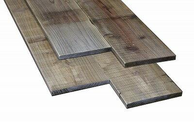 OLD ASHIBA(杉古材)フリー板【150x15】厚み15mm程度×幅150mm程度×長さ410〜500mm 塗装仕上げ〈受注生産〉 【小型商品】