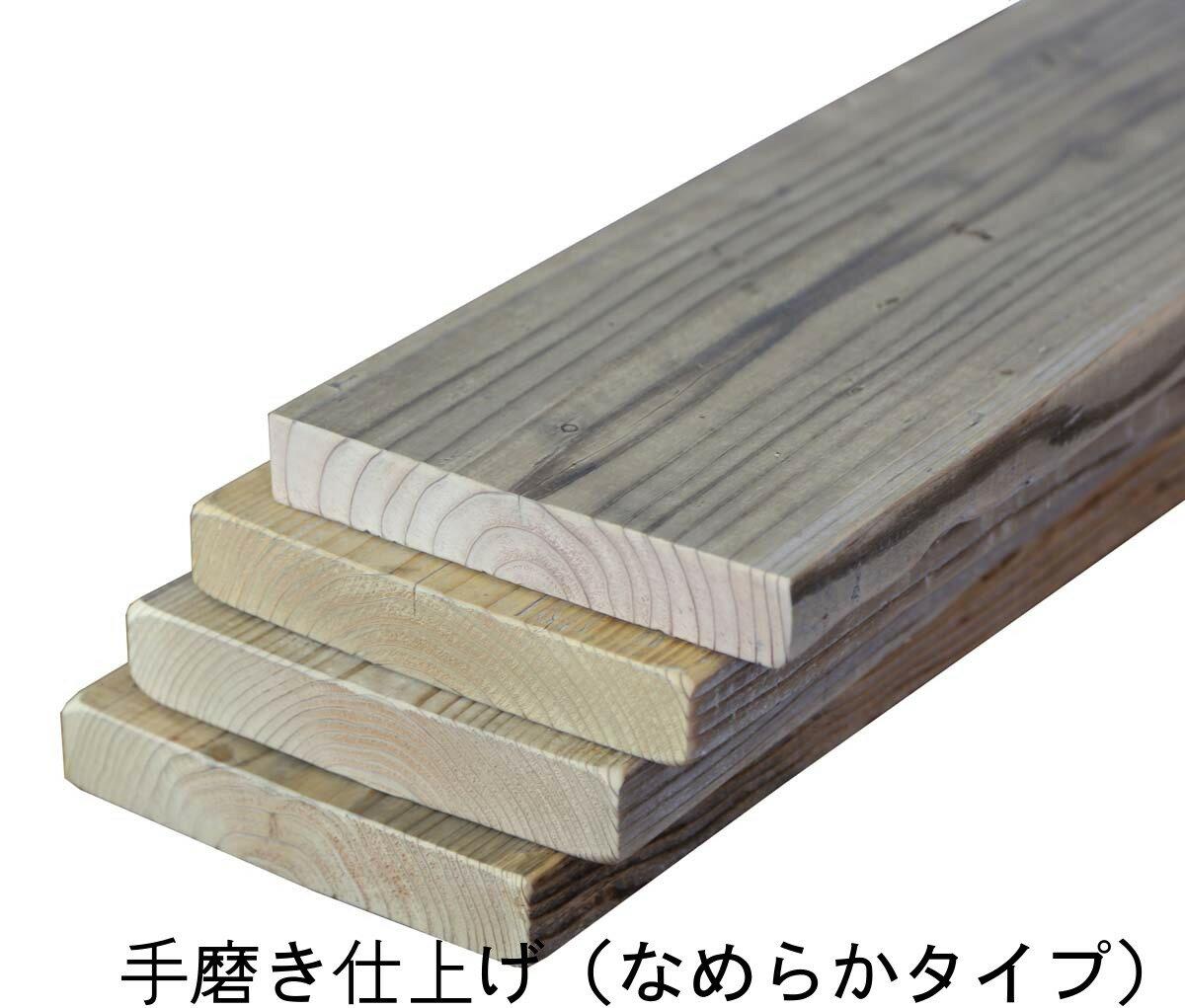 OLD ASHIBA(足場板古材) フリー板 4枚セット厚35mm×幅200/210mm×長さ700mm 無塗装 【小型商品】