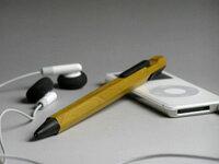 1つ1つ丁寧につくり上げられた究極の木製シャープペンシル♪MACINARI Mechanical pencil マキナ...