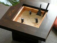 完全手作り、本格的な火鉢をお手ごろ価格で♪杉の角火鉢★スターターセット(椚炭、五徳、火箸...