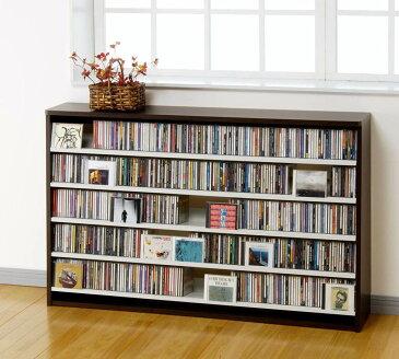 【送料無料】CDラック CD収納ラック DVDラック CD DVD 収納 棚 ラック 大容量 W139.2