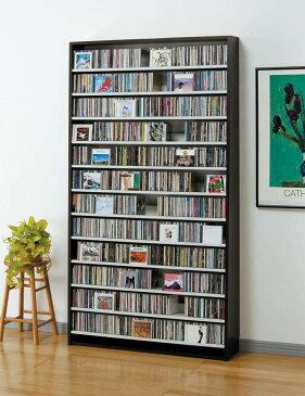 【送料無料】CDラック CD収納ラック DVDラック CD DVD 収納 棚 ラック 大容量 W109