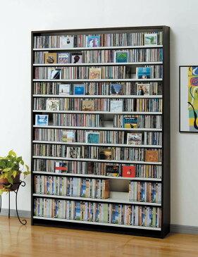 【送料無料】CDラック CD収納ラック DVDラック CD DVD 収納 棚 ラック 大容量 W139