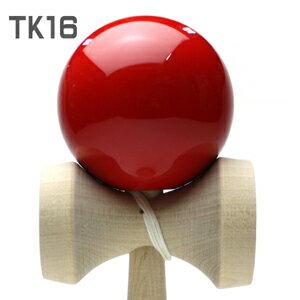 シンプルで扱いやすい日本けん玉協会公認けん玉けん玉 赤 TK16master(NPO日本けん玉協会認定)...