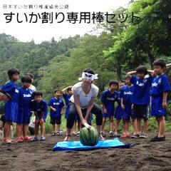 NHKおはよう日本で紹介されたすいか割り推進協会認定すいか割り専用棒セット