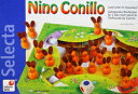 ニーノが住む穴に水が…早く救出してあげて!セレクタ社ボードゲームウサギのニーノ