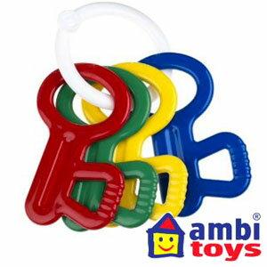 アンビトイズ(Ambi Toys)ラトルキー【おもちゃ歳から】【子どもお誕生日知育玩具プレゼントキッズ子供ゲーム木のおもちゃギフト出産祝い赤ちゃん男の子女の子】