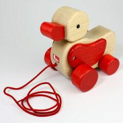 ドイツ製ひっぱるおもちゃのロングセラーニック(ヴァルター)社 プルトーイあひる【楽ギフ_包装...