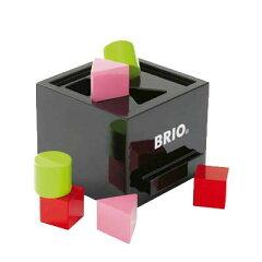 ベーシックな形合わせにBRIOの光沢のある黒が登場BRIO形合わせボックス(ポストボックス)ブラック