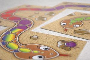 アミーゴ社カードゲーム虹色のへび