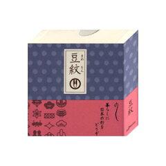 お手紙やカード、ぽち袋や贈り物のミニカードとしても活用できる紋切り型 豆紋