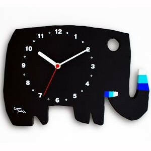 五味太郎さんの絵本の世界観をそのまま子ども部屋に五味太郎デザイン 絵本の時計ぞう【送料無料】