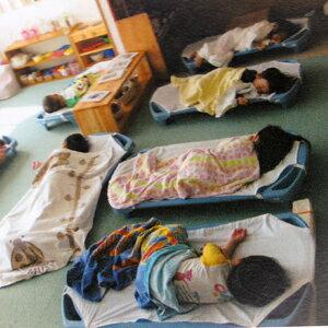 エンジェル社午睡用ベッドお昼寝用スペースライン
