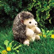 フォークマニス パペットハリネズミ おもちゃ プレゼントキッズ 赤ちゃん