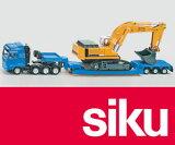 SIKU(ジク) MAN セミトレーラー リープヘル パワーショベル積載 1/87【おもちゃ歳から】【子どもお誕生日知育玩具プレゼントキッズ子供ゲーム木のおもちゃギフト出産祝い赤ちゃん男の子女の子】