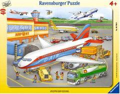 ラベンスバーガー社パネルパズル飛行機(40ピース)