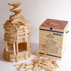 素朴でシンプルな白木の板カプラ人気の家庭用サイズです魔法の板 カプラ(KAPLA)カプラ280おま...