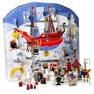 めくるたび、クリスマスがもっと楽しくなる!Martinex社ムーミンクリスマスフィギュアカレンダー