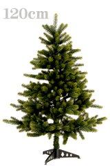 ボリューム満点、見事な枝ぶりのツリーPLASTIFLOR社 クリスマスツリー120cm【送料無料】